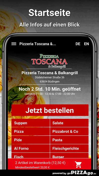Toscana Büdingen screenshot 2