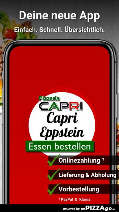 Pizzeria Capri Eppstein screenshot 1