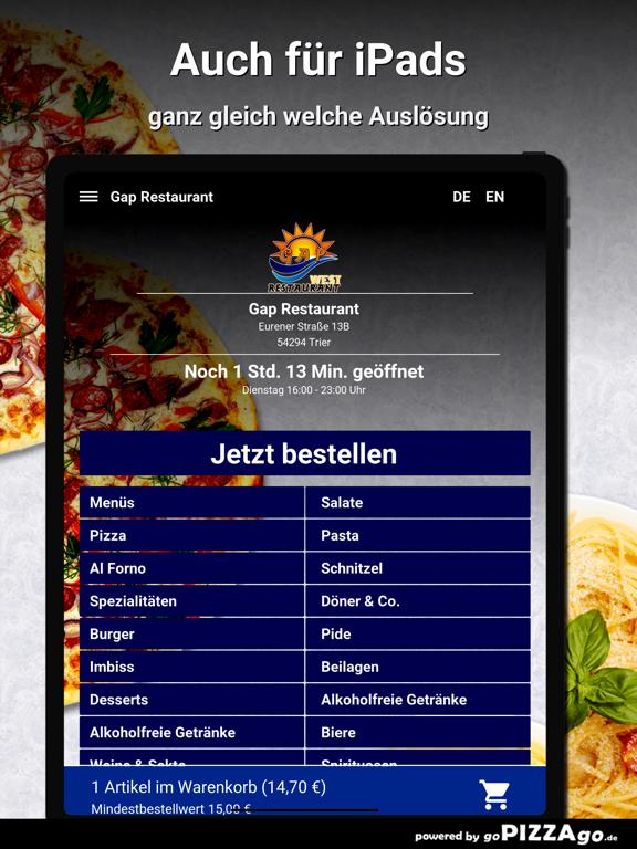 Gap Restaurant Trier screenshot 7
