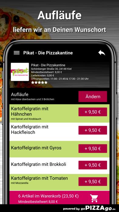 Pikat - Die Pizzakantine Kiel screenshot 6