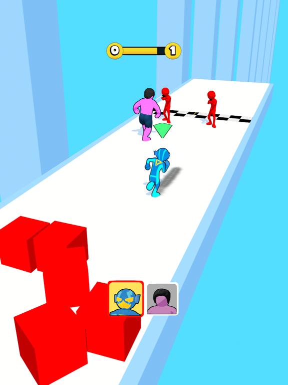 Superhero Race! screenshot 4