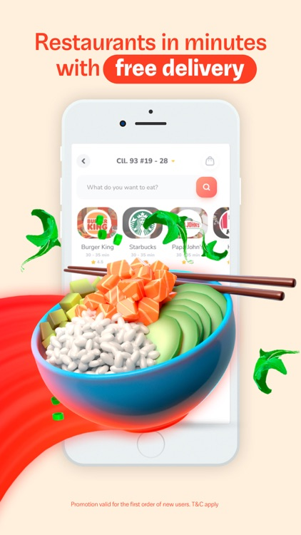 Rappi - Food delivery and more screenshot-0