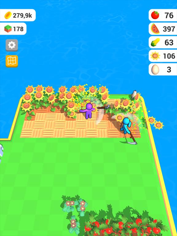 Ipad Screen Shot Farm Land 3D 0