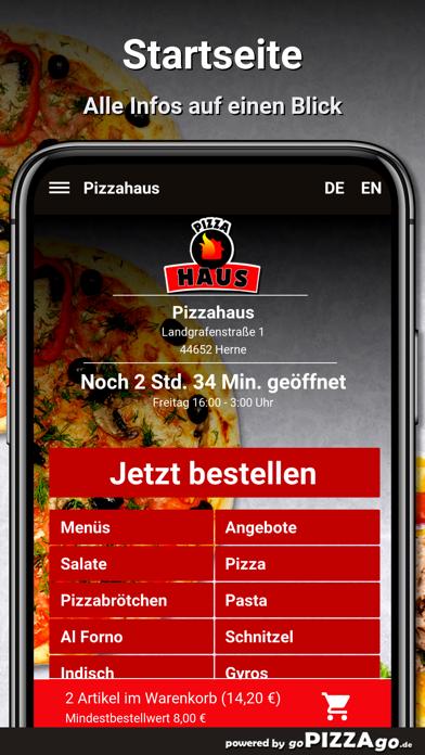 Pizzahaus Herne screenshot 2