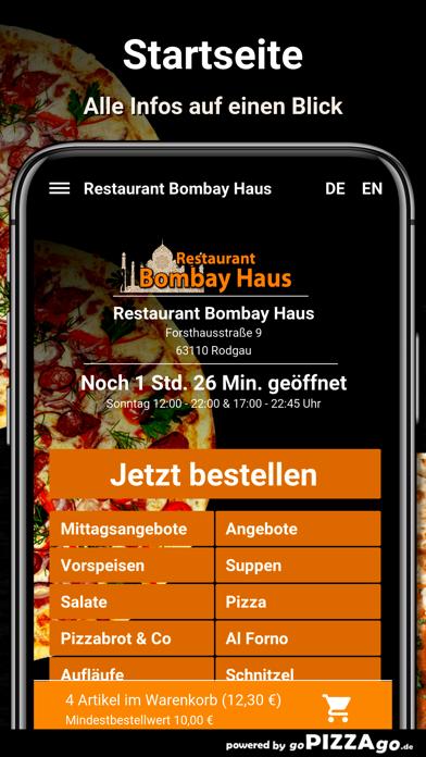 Restaurant Bombay Haus Rodgau screenshot 4