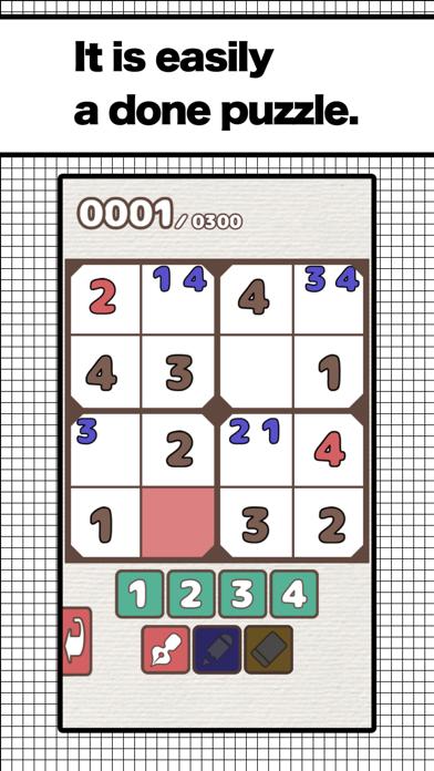 NumberPlace4x4 Expert screenshot 2