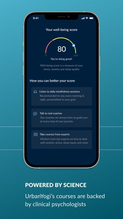 UrbanYogi : Meditation & Sleep screenshot-3