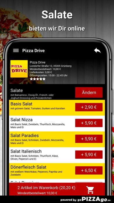 Pizza Drive Grünberg screenshot 5