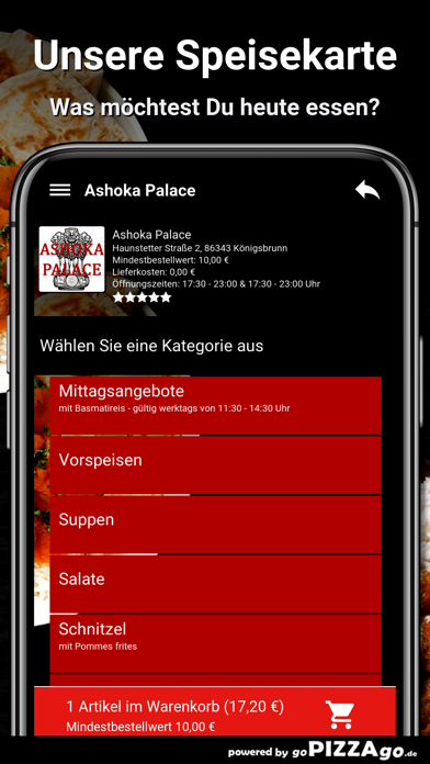 Ashoka Palace Königsbrunn screenshot 4