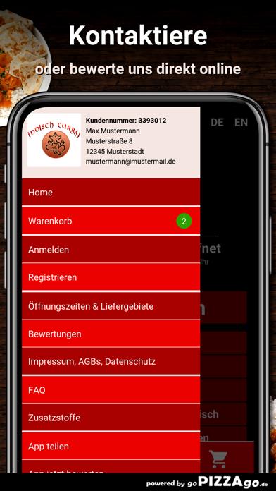 Indisch-Curry Service München screenshot 3