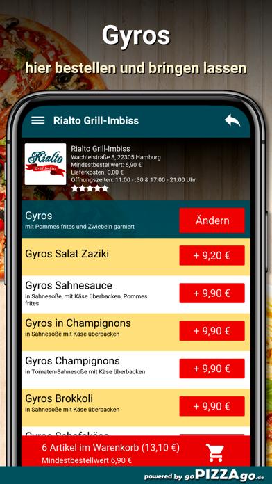 Rialto Grill-Imbiss Hamburg screenshot 6