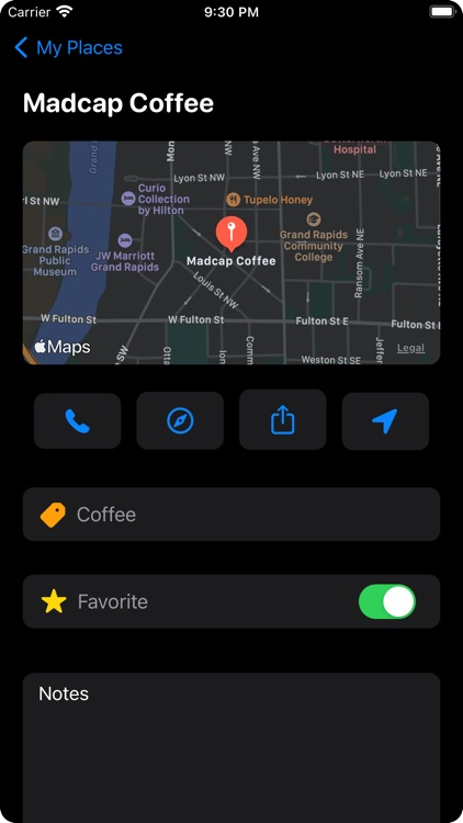 BeenThere: Collect Cool Places