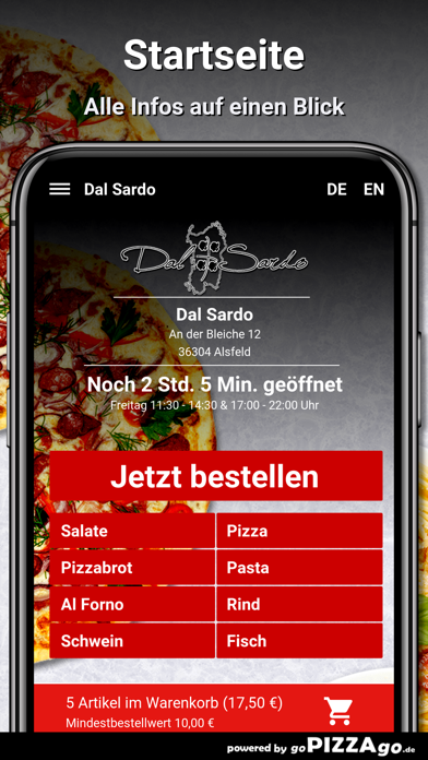 Dal Sardo Alsfeld screenshot 2