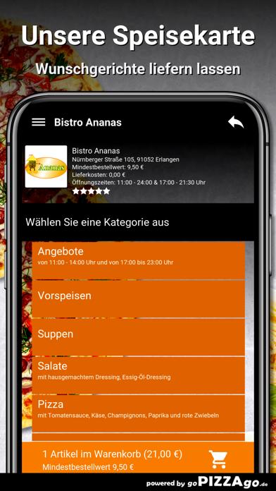 Bistro Ananas Erlangen screenshot 4