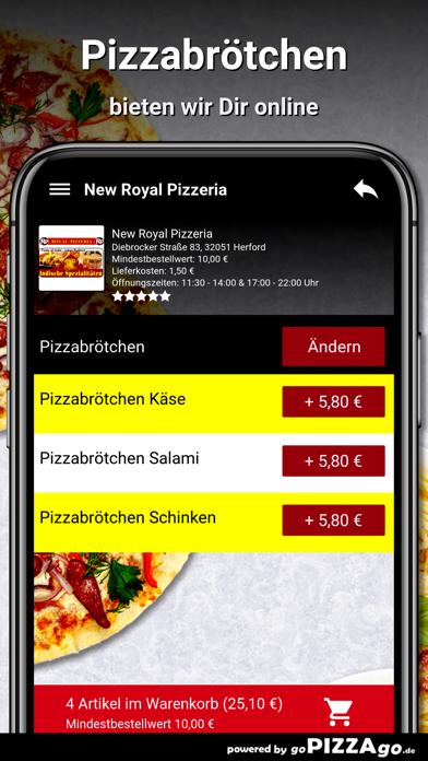 New Royal Pizzeria Herford screenshot 5