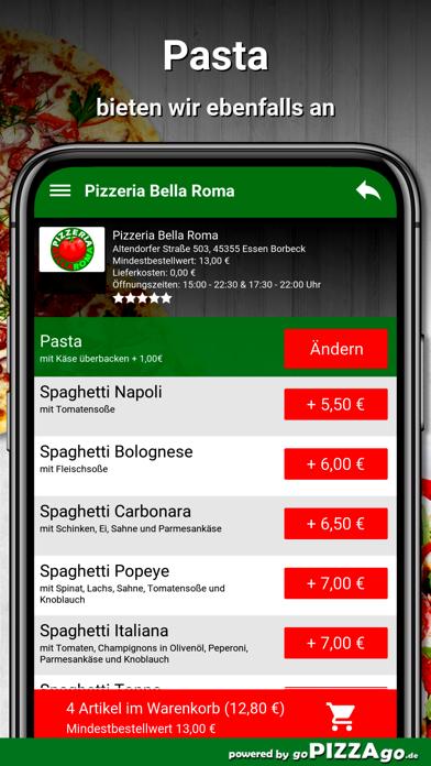 Bella Roma Essen Borbeck screenshot 6