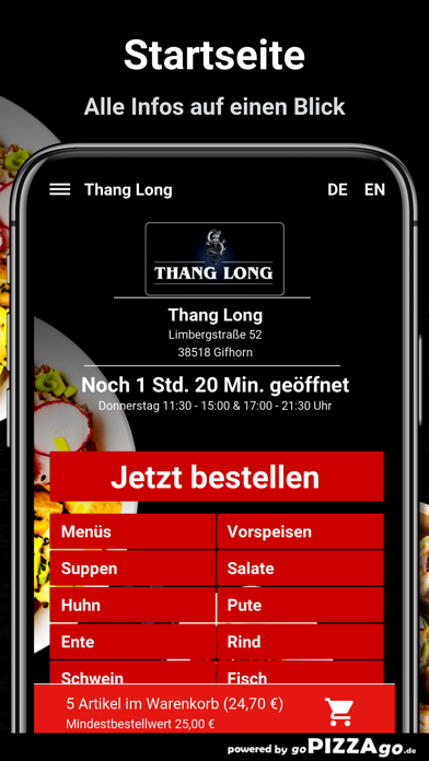 Thang Long Gifhorn screenshot 2
