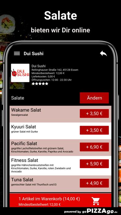 Dui Sushi Essen screenshot 5