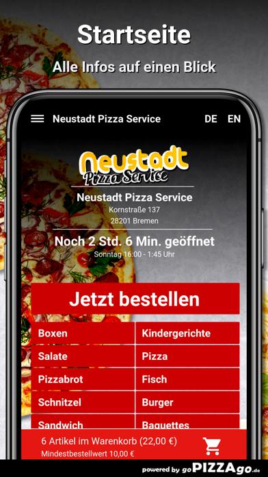 Neustadt Pizza Service Bremen screenshot 2
