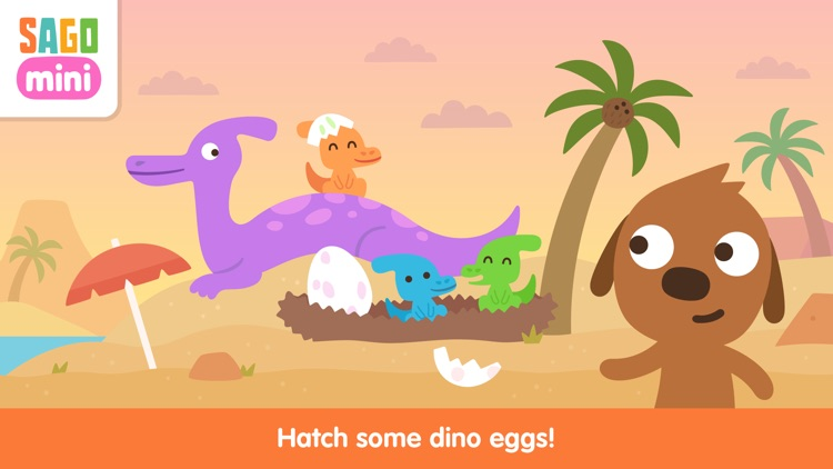 Sago Mini Dinosaurs screenshot-3