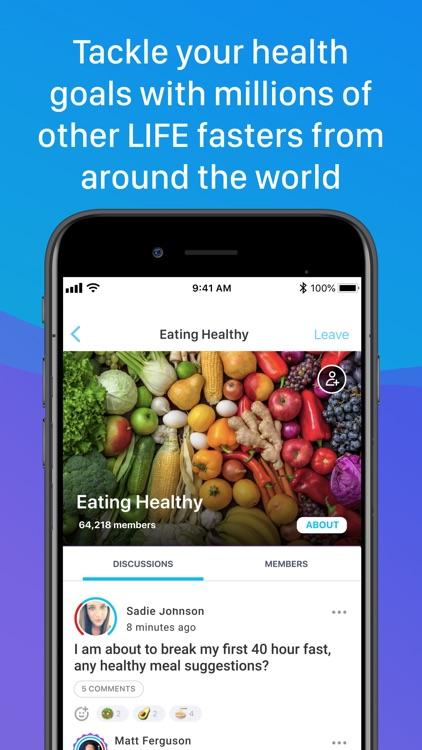 LIFE Fasting Progress Tracker