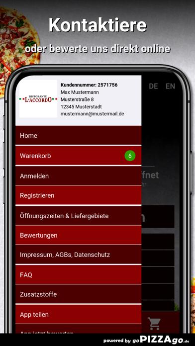L`Accordo Lieferservice Berlin screenshot 3