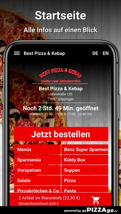 Best Pizza & Kebap Göppingen screenshot 2