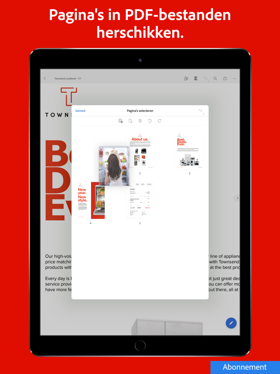 Adobe Acrobat Reader voor PDF iPad app afbeelding 10