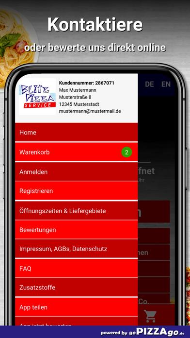 Blitz Pizza Kiel Elmschenhagen screenshot 3