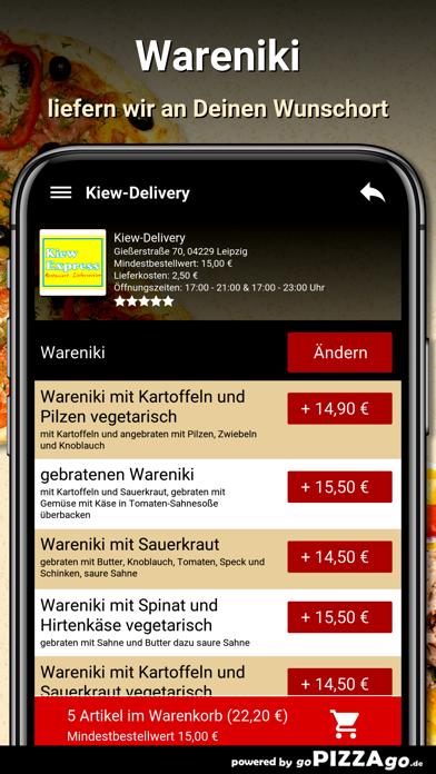 Kiew-Delivery Leipzig screenshot 6