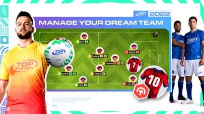 Top Eleven Be a Soccer Manager for windows pc