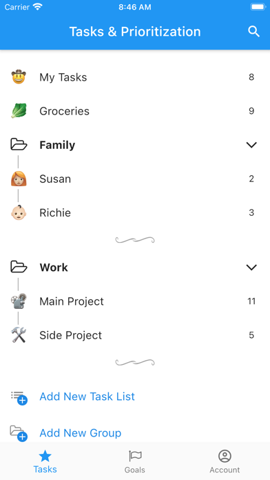 Actolist - Boost Productivity screenshot 1