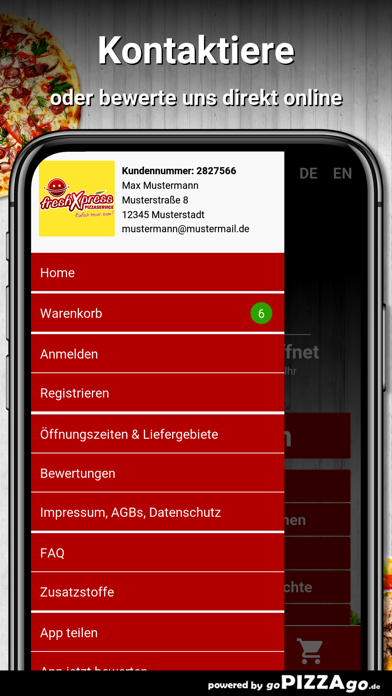 freshXpress Kaltenkirchen screenshot 3