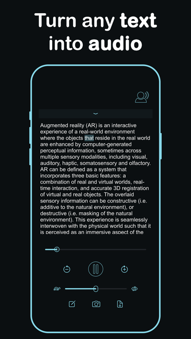 Listen - Text To Speech screenshot 2