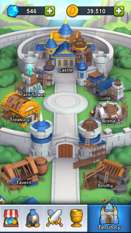 Hero Clash War screenshot-4