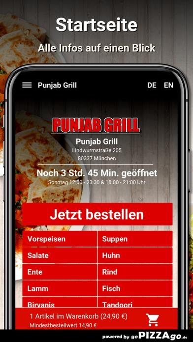 Punjab Grill München screenshot 2