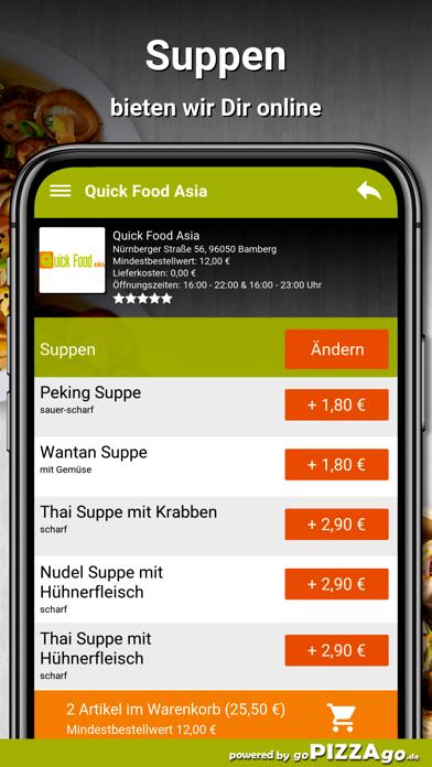 Quick Food Asia Bamberg screenshot 5