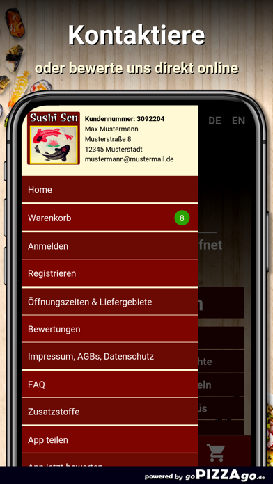 Sushi Sen München screenshot 4