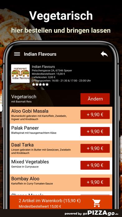 Indian Flavours Speyer screenshot 6