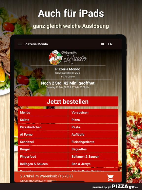 Pizzeria Mondo Calden screenshot 8