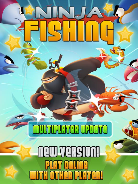 Ninja Fishing screenshot
