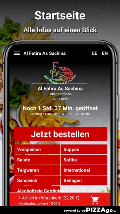 Al Fatira As Sachina Berlin screenshot 2