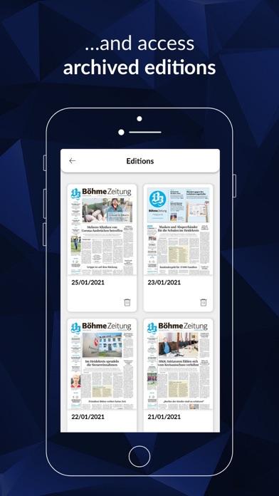 Böhme-Zeitung screenshot 5