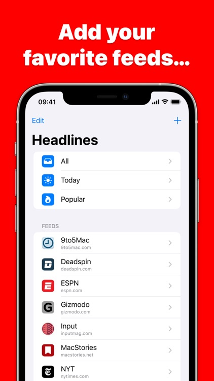 Headlines - News & Widgets screenshot-3