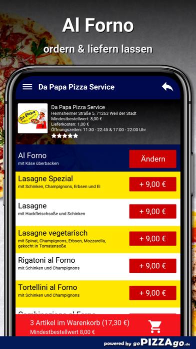 Da Papa Pizza Weil der Stadt screenshot 6