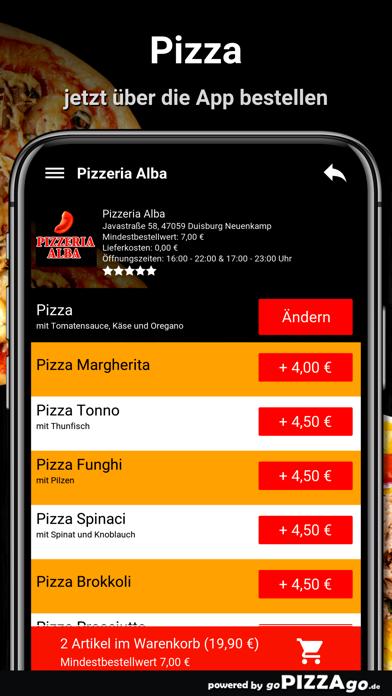 Pizza Alba Duisburg Neuenkamp screenshot 5