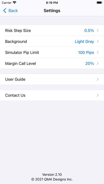 Forex Trade Calculator screenshot-8