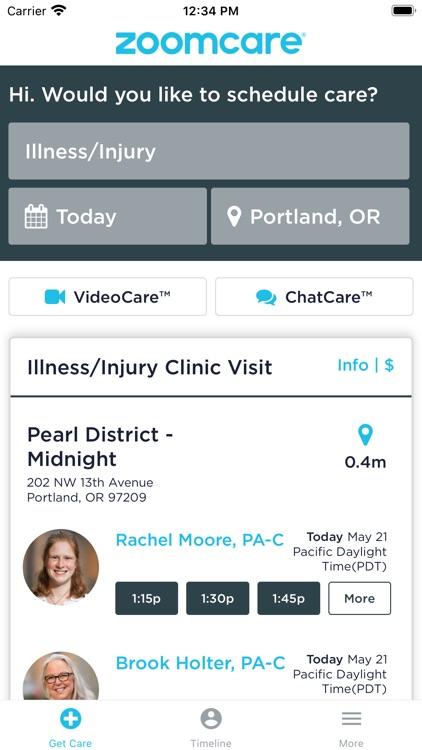 ZoomCare On-Demand Healthcare