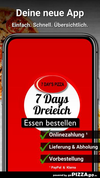 7 Days Pizza Dreieich screenshot 1