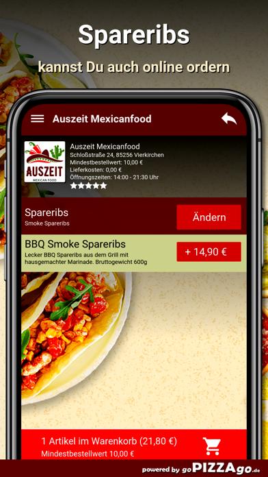Auszeit Mexicanfood Vierkirche screenshot 5